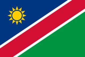 Flagge Namibias