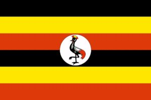 Flagge Ugandas