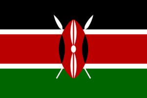 Flagge Kenias