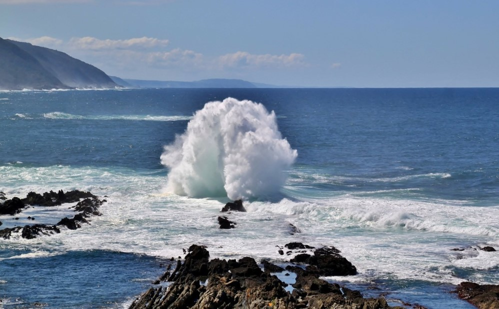 An der Küste Südafrikas