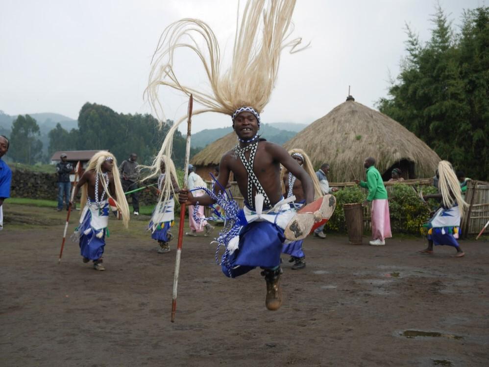 Traditioneller Tanz in Ruanda