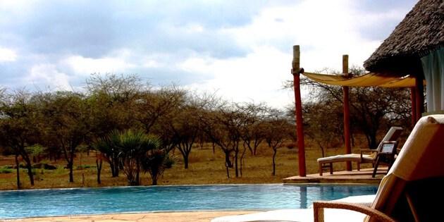 Luxuslodge in Tansania
