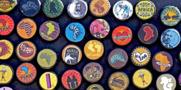 Souvenirs aus Botswana