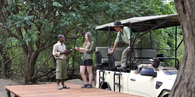 Guide mit Safariauto bei Gamedrive