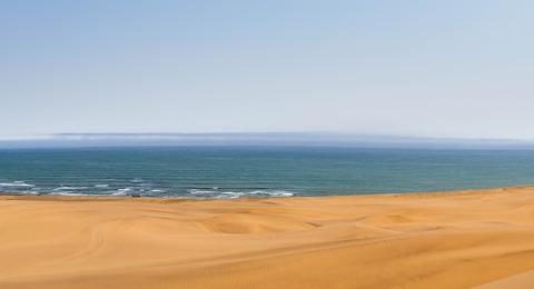 Namibia Wüste und Meer