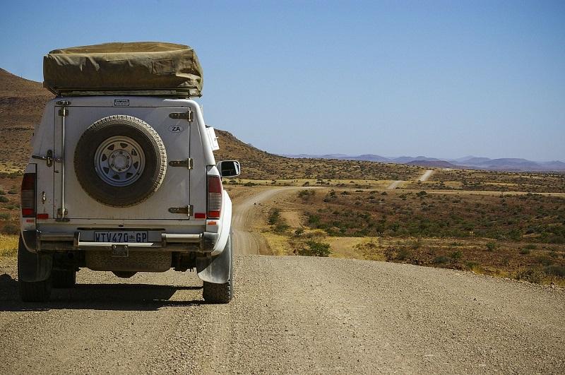 Auto,Allrad,Dachzelt,Namibia