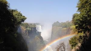 Viktoriafälle in Simbabwe