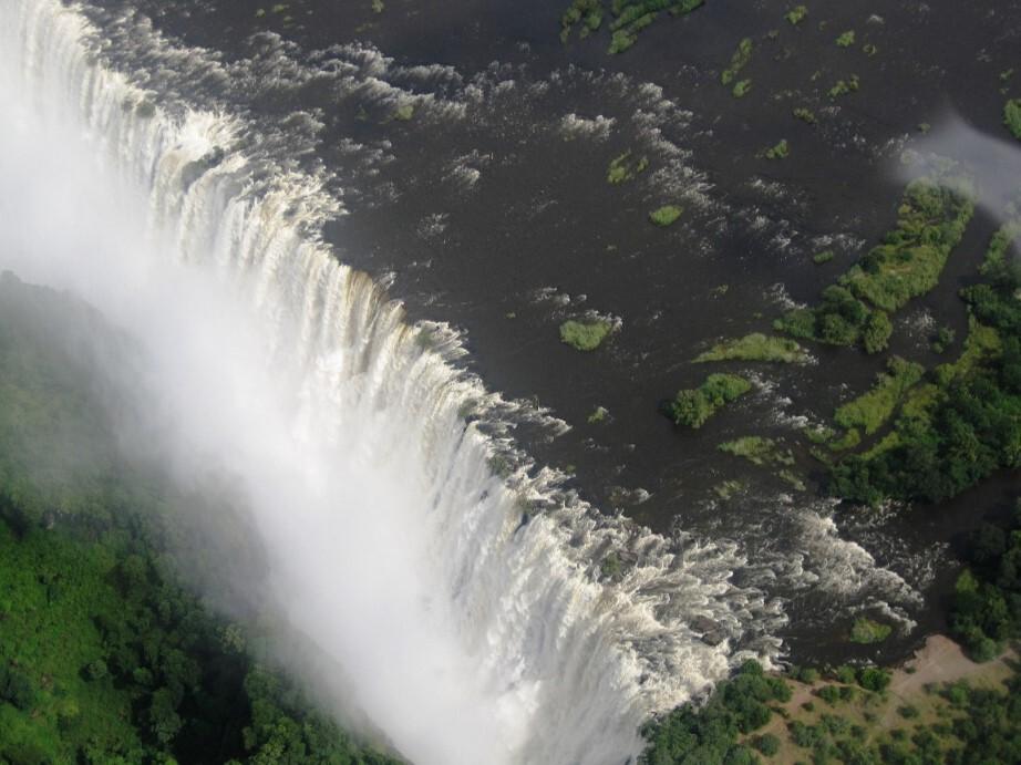 Viktoriafälle in Sambia