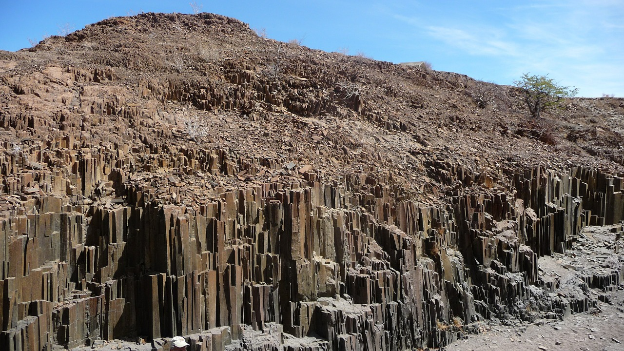 Namibia Orgelpfeifenfelsen