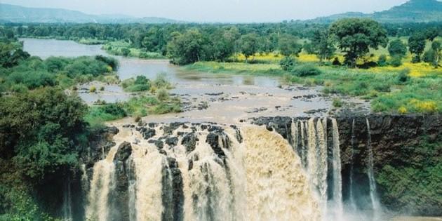 Nil Wasserfall