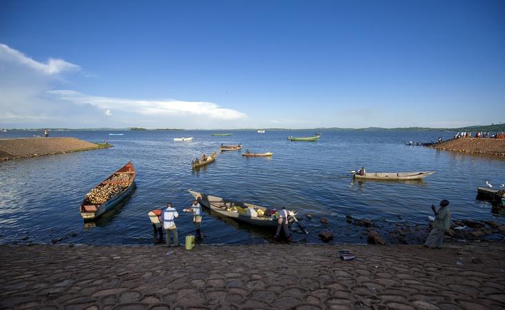 Fischer und Boote