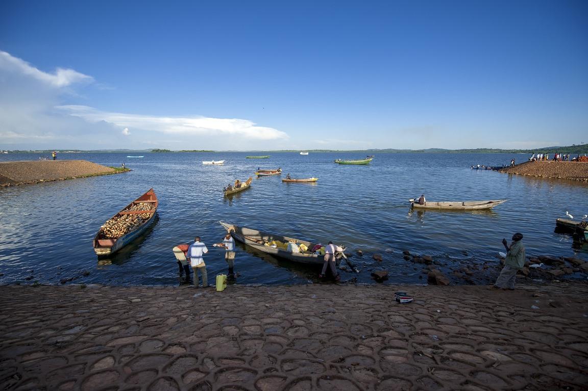 Ufer in Uganda