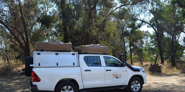 Selbstfahrer mit Dachzelt in Namibia