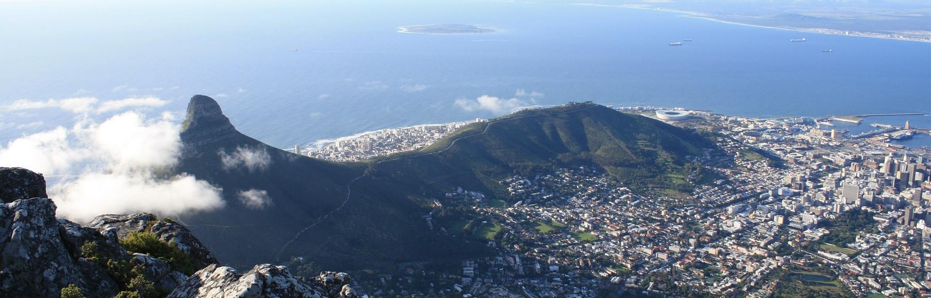 Header Kapstadt Luftaufnahme