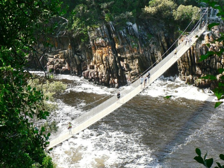 Hängebrücke im Tsitsikamma Nationalpark