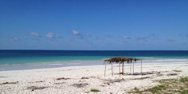 Strand in Mosambik