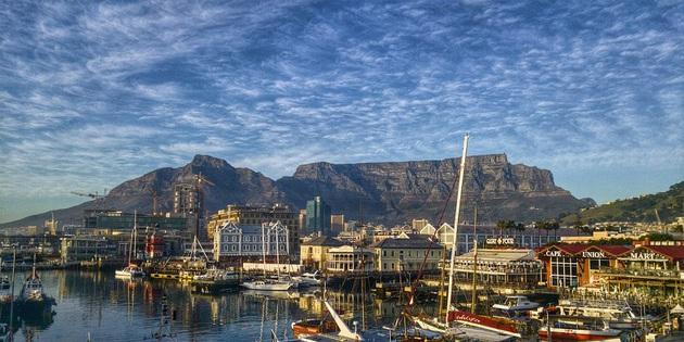 Waterfront in Kapstadt Südafrika