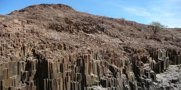 Versteinerter Wald in Namibia