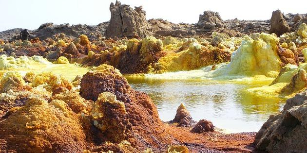 Landschaft in Äthiopien Afrika