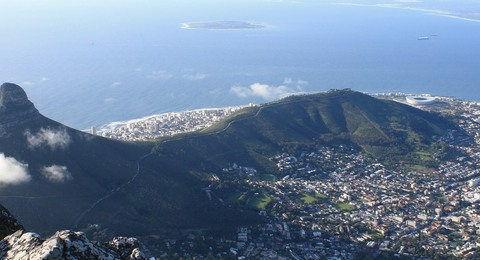 Header Kapstadt Luftaufnahme Lionshead