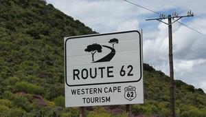 Straßenschild Route 62