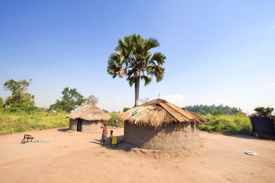 Dorf in Uganda