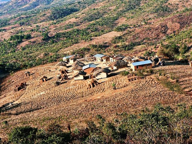 Malawisches Dorf