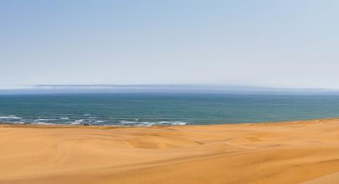 Strand in Namibia