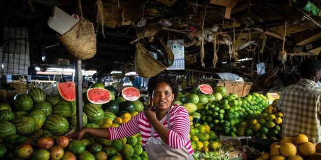 Marktstand Nairobi
