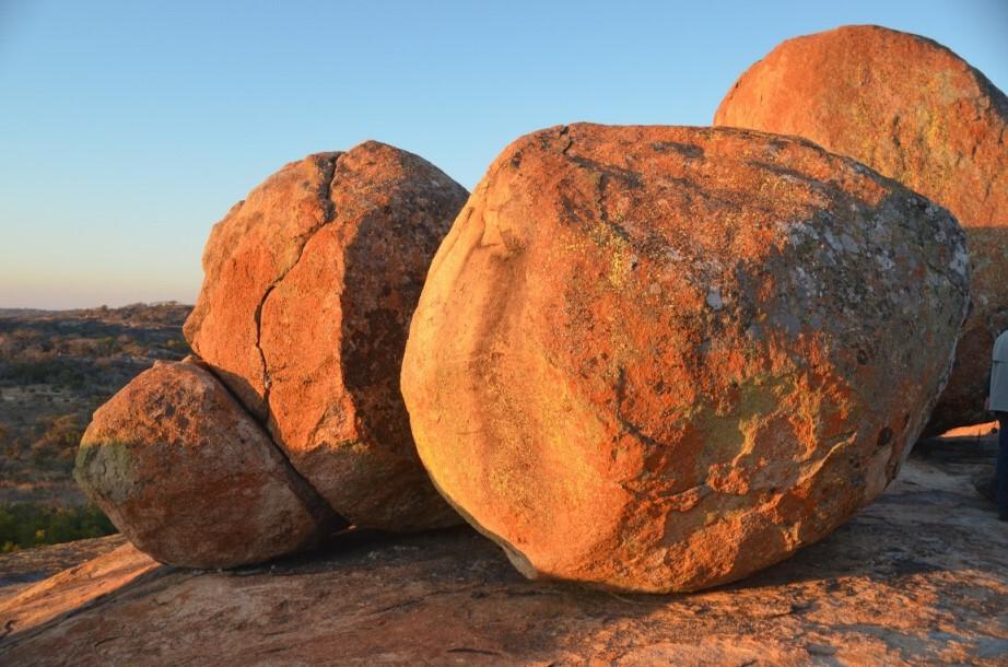 Steinformationen in Simbabwe