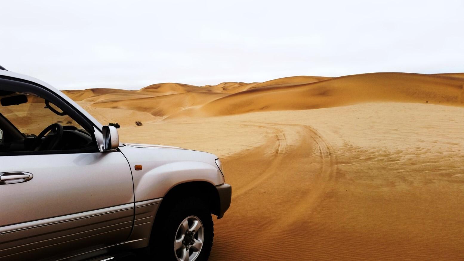 Wüstentour mit Allradauto