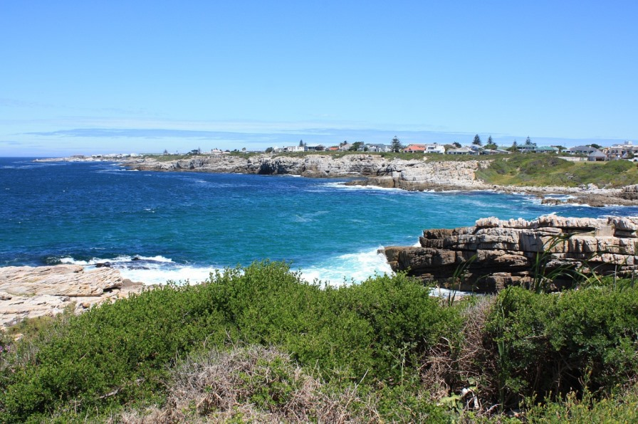 Küste an der Gartenroute