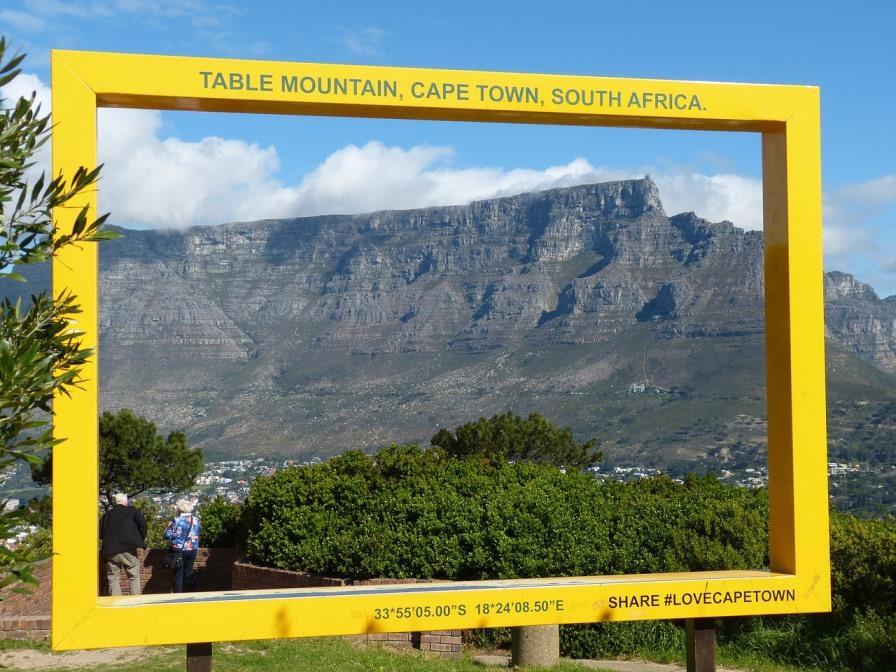 Tafelberg in Südafrika
