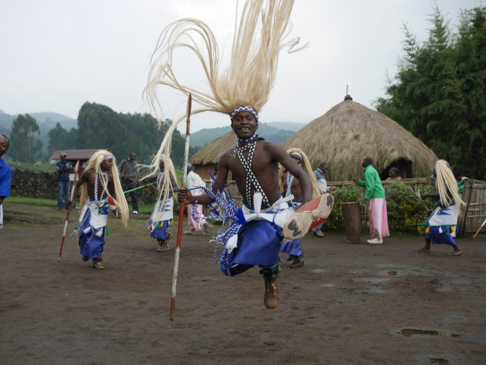 ​Traditioneller Tanz in Ruanda