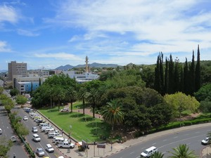 Windhoek Ansicht von Hochhaus namibia