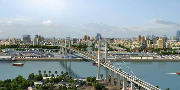 Blick auf Hauptstadt von Masambik